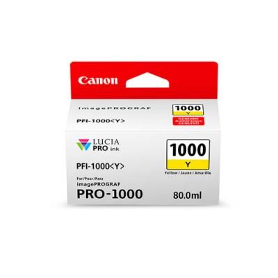 Canon PFI-1000 Y Original Amarillo - Imagen 1