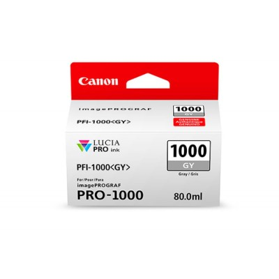 Canon PFI-1000 GY Original Gris - Imagen 1