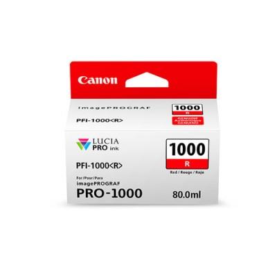 Canon PFI-1000 R Original Rojo - Imagen 1