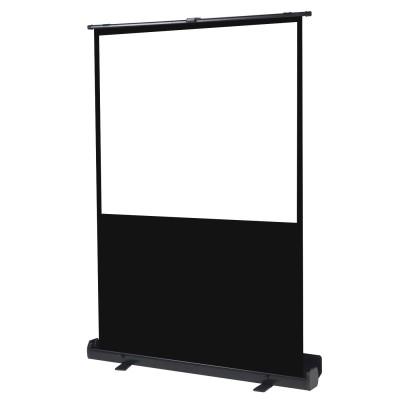 Pantalla manual portatil  de suelo videoproyector phoenix 72pulgadas ratio 4:3 - 16:9 1.45m x 1.10m posicion ajustable - carcasa