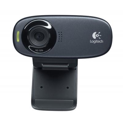 Logitech C310 cámara web 5 MP 1280 x 720 Pixeles USB Negro - Imagen 1