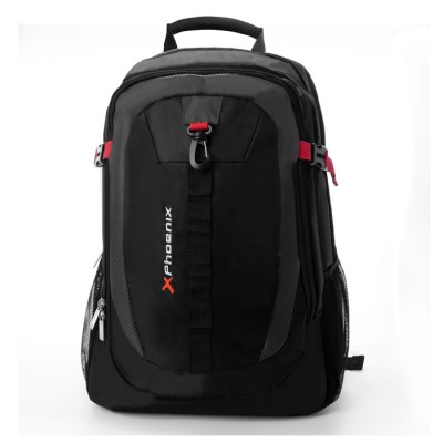 Mochila portatil phoenix phclimber  hasta 15.6pulgadas - ultrabook - netbook - tablet - deportiva -  nylon - acolchado -  con bo