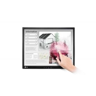 """LG 19MB15T-I monitor pantalla táctil 48,3 cm (19"""") 1280 x 1024 Pixeles Negro Multi-touch Mesa - Imagen 1"""