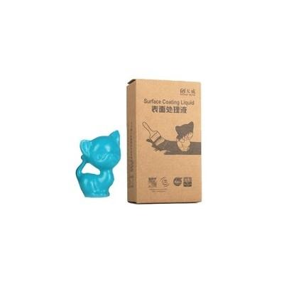 Recubrimiento piezas impresoras 3d azul plata 60ml - Imagen 1