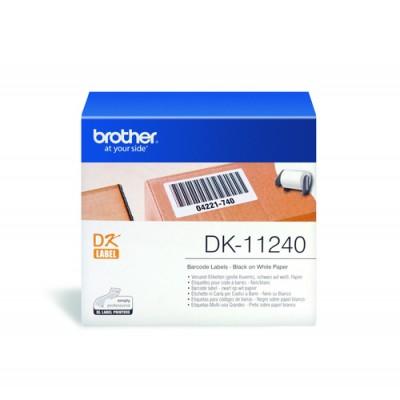 Brother DK-11240 etiqueta de impresora Blanco - Imagen 1