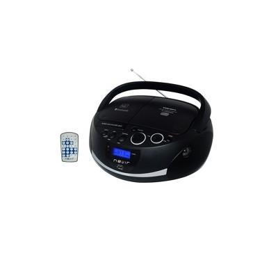 Radio cd mp3 portatil nevir nvr - 480ub negro - bluetooth - Imagen 1
