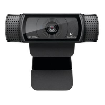Logitech C920 cámara web 15 MP 1920 x 1080 Pixeles USB 2.0 Negro - Imagen 1