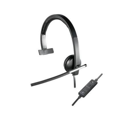 Logitech H650e Auriculares Diadema Negro, Gris - Imagen 1