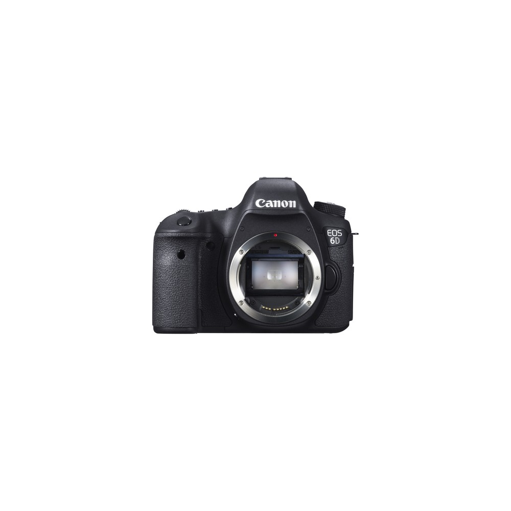 Canon EOS 6D Cuerpo de la cámara SLR 20,2 MP CMOS 5472 x 3648 Pixeles Negro - Imagen 1