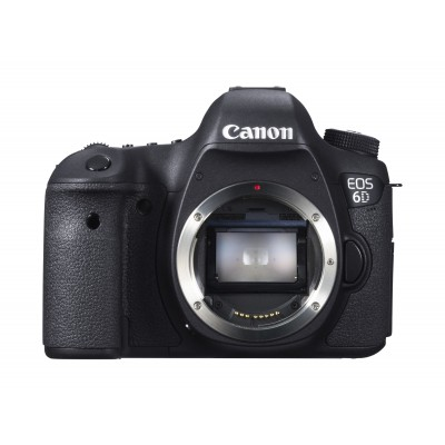 Canon EOS 6D Cuerpo de la cámara SLR 20,2 MP CMOS 5472 x 3648 Pixeles Negro - Imagen 2