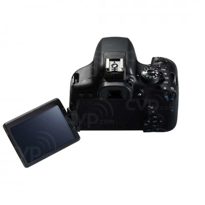 Canon EOS 750D Cuerpo de la cámara SLR 24,2 MP CMOS 6000 x 4000 Pixeles Negro - Imagen 2