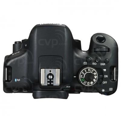 Canon EOS 750D Cuerpo de la cámara SLR 24,2 MP CMOS 6000 x 4000 Pixeles Negro - Imagen 3