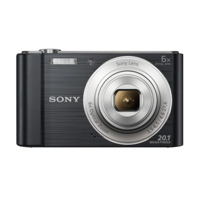 "Sony Cyber-shot DSC-W810 Cámara compacta 20,1 MP CCD 5152 x 3864 Pixeles 1/2.3"" Negro - Imagen 1"