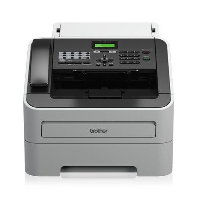 Brother -2845 fax Laser 33,6 Kbit/s 300 x 600 DPI Negro, Blanco - Imagen 1