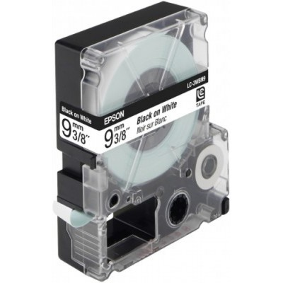 Epson Cinta estándar - LC3WBN9 estándar negra/blanca 9/9 - Imagen 1