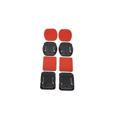 Accesorio soporte adhesivo 3m curvos  + planos phoenix para camaras sport & gopro hero 4 - 3+ - 3 - 2 - 1 flat and curved adhesi