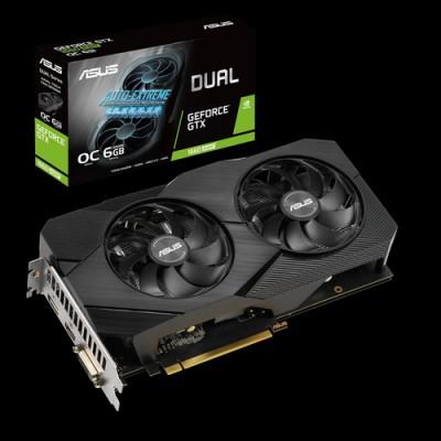 ASUS Dual -GTX1660S-O6G-EVO NVIDIA GeForce GTX 1660 SUPER 6 GB GDDR6 - Imagen 1