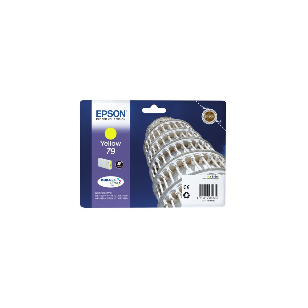 Epson Tower of Pisa Cartucho 79 amarillo - Imagen 1