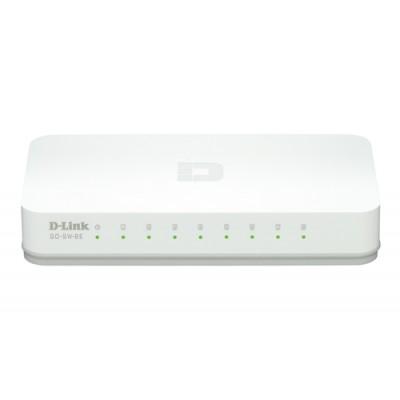 D-Link GO-SW-8E/E switch No administrado Fast Ethernet (10/100) Blanco - Imagen 1
