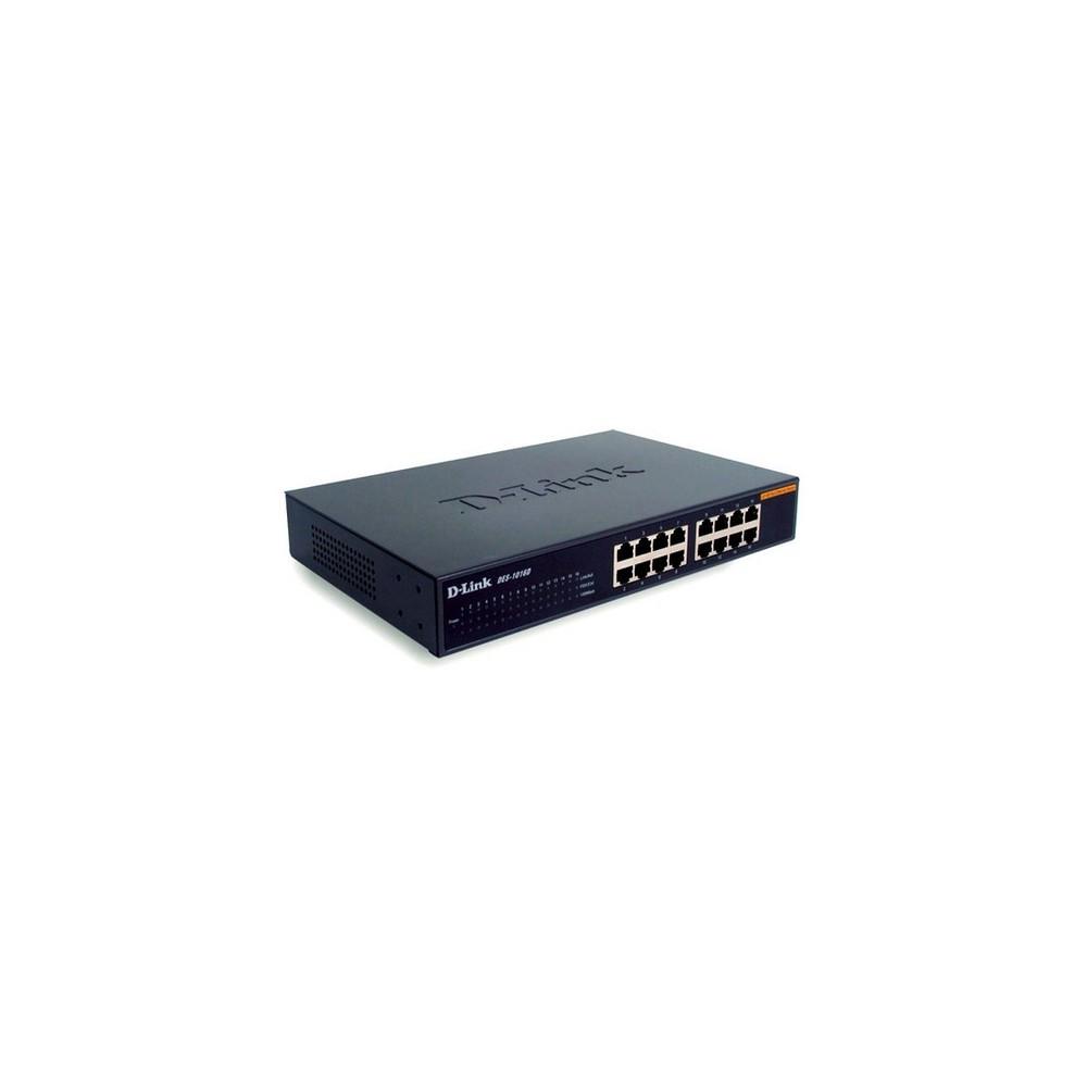 D-Link DES-1016D/E switch No administrado - Imagen 1