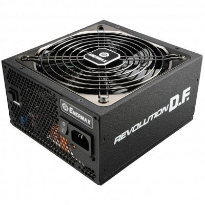 Fuente de alimentacion gaming enermax revolution df 850w ventilador 13.9cm 80+ gold - Imagen 1