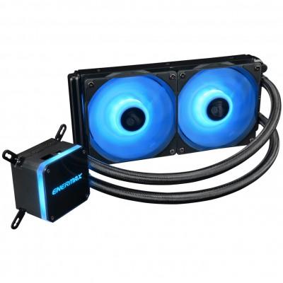 Ventilador gaming enermax elc - lmt240 - rgb doble ventilador 12cm rgb + refrigeracion liquida - Imagen 1