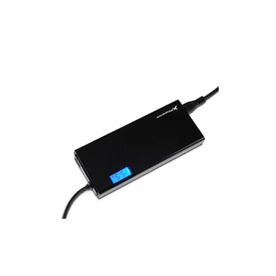 Adaptador cargador de corriente universal  automatico 90w phoenix pantalla lcd (incluye 12 conectores) para portatiles - netbook
