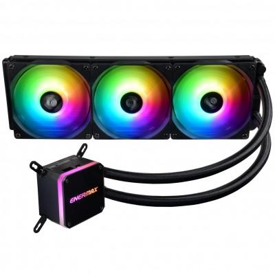 Ventilador gaming enermax elc - lmt360 - argb triple ventilador 12cm + refrigeracion liquida - Imagen 1