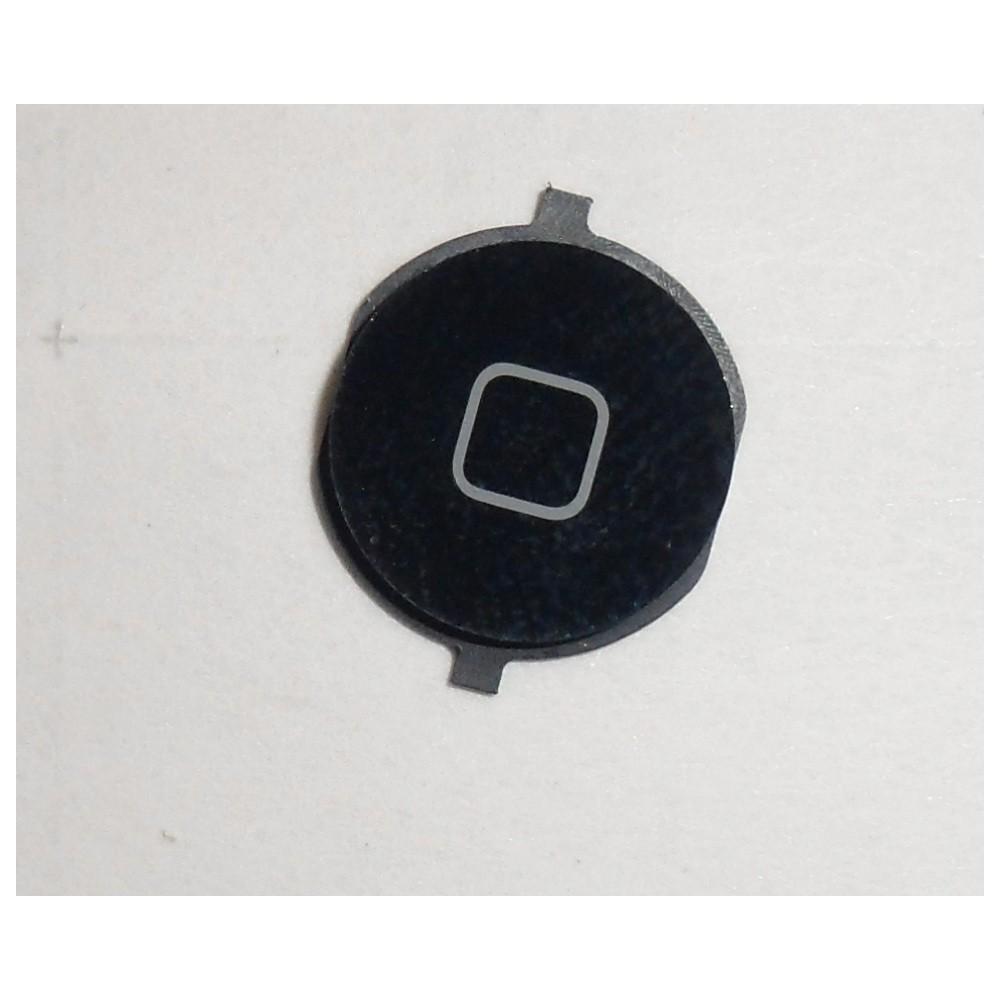 Repuesto boton home para apple iphone 4s negro - Imagen 1