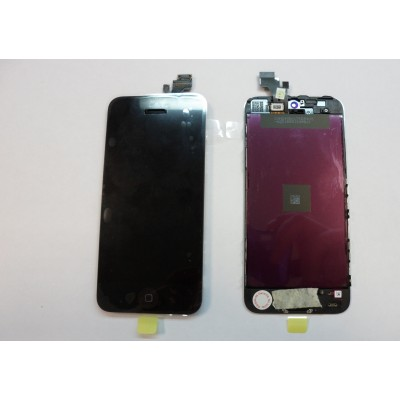 Repuesto pantalla lcd+touch completa para apple iphone 5g negro - Imagen 1