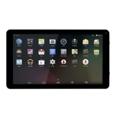 "Denver TAQ-10283 25,6 cm (10.1"") 1 GB 16 GB Wi-Fi 4 (802.11n) Negro Android 8.1 Go edition - Imagen 1"
