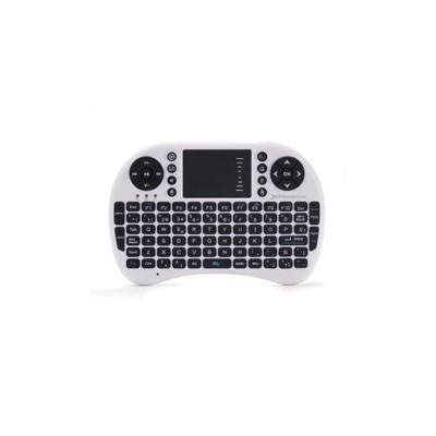 Mini teclado inalambrico wireless 2.4ghz phoenix touchpad multimedia  smart tv - tvbox - android tv - color blanco y negro - Ima