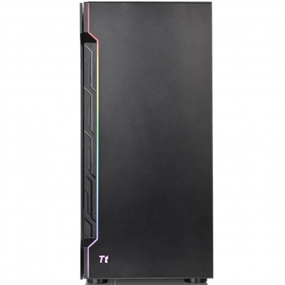 Caja ordenador gaming thermaltake h200 tg rgb atx - cristal templado - usb 3.0 - negro - Imagen 1