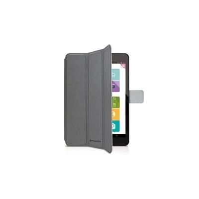Funda cover case phoenix para tablet - ipad mini 2 - 4 aprox de 7.5 a  material tipo skay gris - Imagen 1