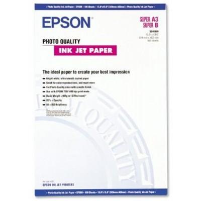 Epson Photo Quality Ink Jet Paper, DIN A3+, 102 g/m², 100 hojas - Imagen 1