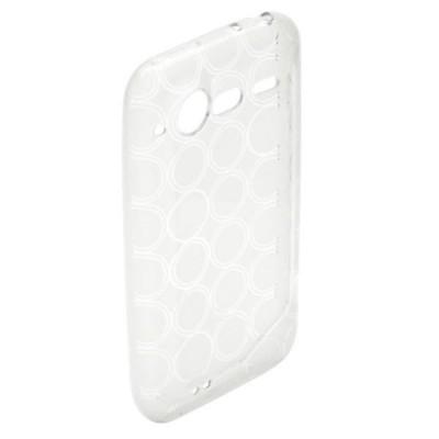Carcasa smartphone hisense hs - u950 silicona transparente - Imagen 1