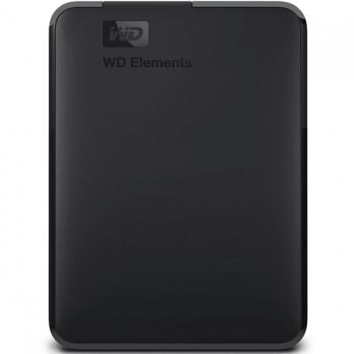 Disco duro externo hdd wd western digital 4tb elements ntfs usb 3.0 negro - Imagen 1
