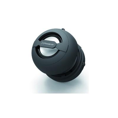Mini altavoz portatil phoenix miniboom universal bluetooth  - jack 3.5mm con bateria negro - Imagen 1