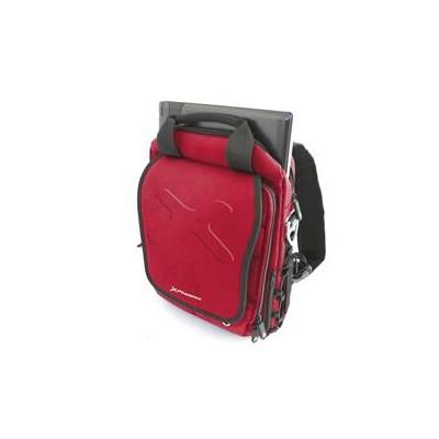 Maletin - mochila - bandolera tipo sport phoenix red exttreme hasta 13.3pulgadas roja deporte - Imagen 1