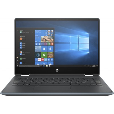 "HP Pavilion x360 14-dh1016ns Negro, Azul Híbrido (2-en-1) 35,6 cm (14"") 1366 x 768 Pixeles Pantalla táctil Intel® Core™ i3 de 10"