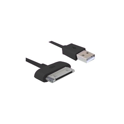 Cable de carga y sincronizacion phoenix para dispositivos apple iphone ipad 3m negro - Imagen 1