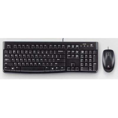 Logitech MK120 teclado USB QWERTY Portugués Negro - Imagen 1