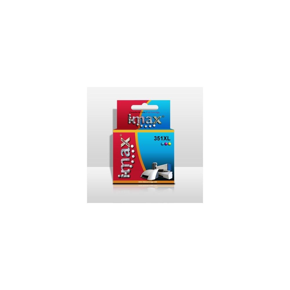 Cartucho tinta imax cb338 nº351xl tricolor hp (14ml) 4250 -  d4200 series -  6000 -  j5730 - Imagen 1