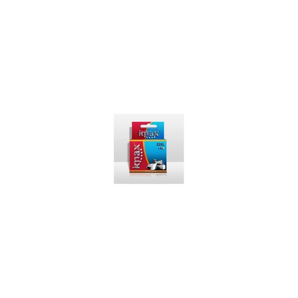 Cartucho tinta imax c9352c nº22xl (18ml) tricolor hp deskjet 3920 -  3940 -  psc 1410 - Imagen 1