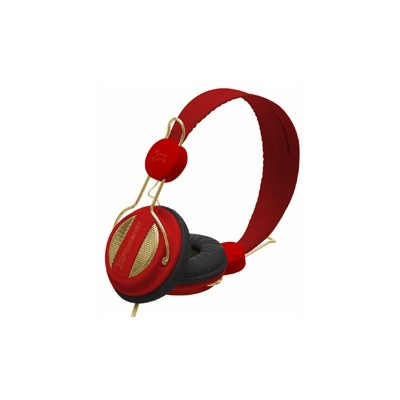 Auriculares con microfono phoenix 1080 air rojo - Imagen 1