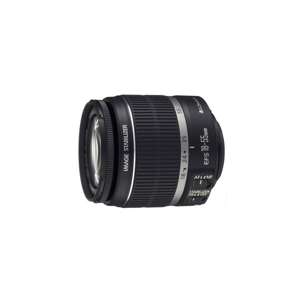 Canon EF-S 18-55mm f/3.5-5.6 IS II SLR Objetivo de zoom estándar Negro - Imagen 1
