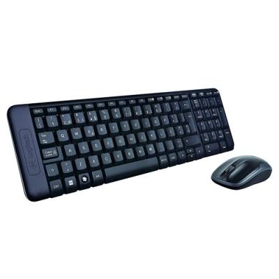 Logitech MK220 teclado RF inalámbrico Español Negro - Imagen 1