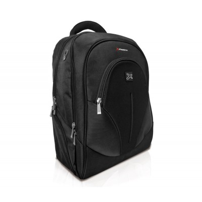 Mochila portatil phoenix phoxford  hasta 17.3pulgadas - ultrabook - netbook - tablet - nylon - acolchado -  con bolsillo interio