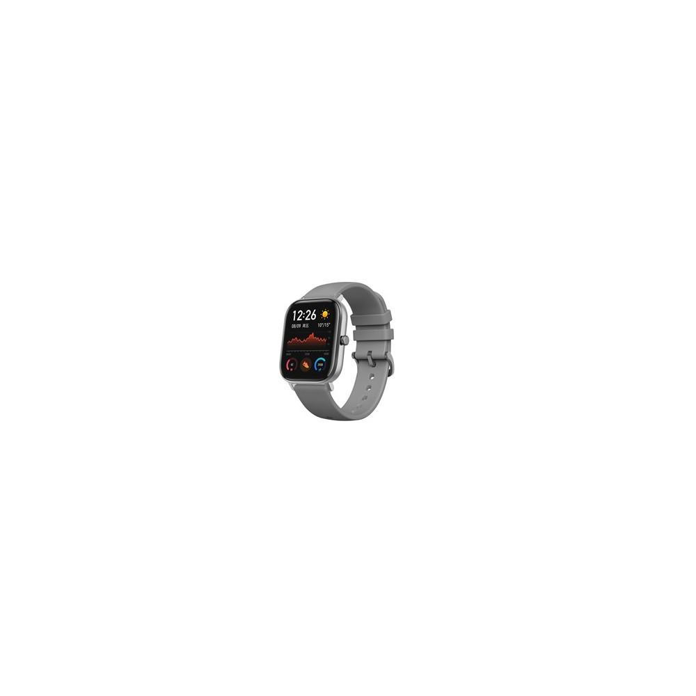 Pulsera reloj deportiva xiaomi amazfit gts grey -  smartwatch -  1.65pulgadas amoled -   ntsc -   resistente al agua 5 atm - Ima