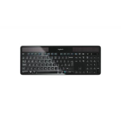 Logitech K750 teclado RF inalámbrico QWERTY Español Negro - Imagen 1